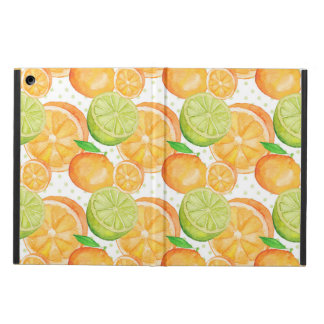 Citrus Fruits Watercolor iPad Air Cover