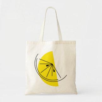 Citrus Lemon tote bag