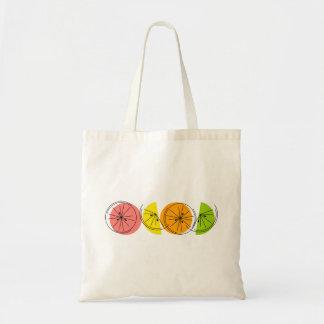Citrus Line tote bag