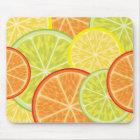 citrus mouse mat