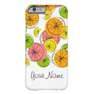 Citrus 'Name' iPhone 6 case vertical