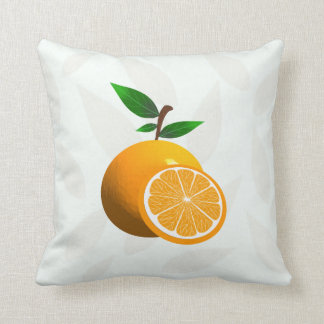 Citrus Orange Cushion