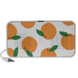 Citrus Orange Print Mini Speaker