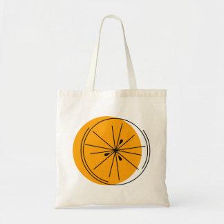 Citrus Orange tote bag