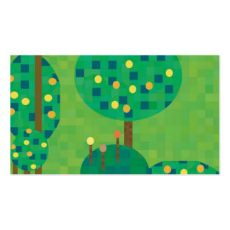 citrus orchard or garden Double-Sided standard business cards (Pack of 100)