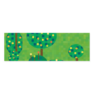 citrus orchard or garden business card template