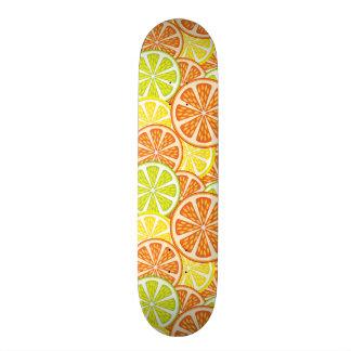 Citrus Pattern 2 20 Cm Skateboard Deck