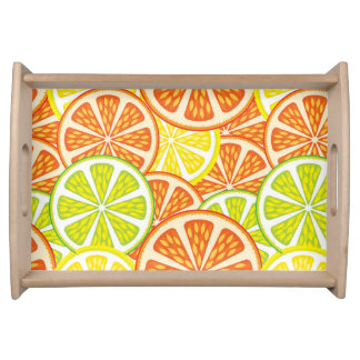 Citrus Pattern 2 Serving Tray