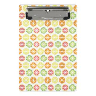 Citrus Pattern Mini Clipboard