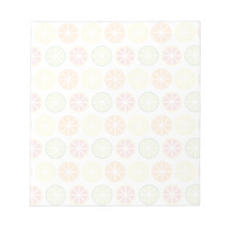 Citrus Pattern Notepad