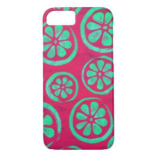 Citrus Slice Neon Mint iPhone 8/7 Case