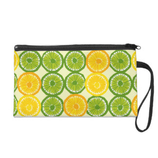 Citrus Slices - 1 Wristlet Purse