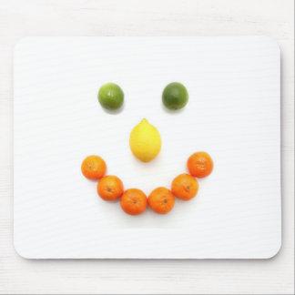citrus smile mouse pad