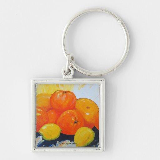 Citrus Splash II Keychain