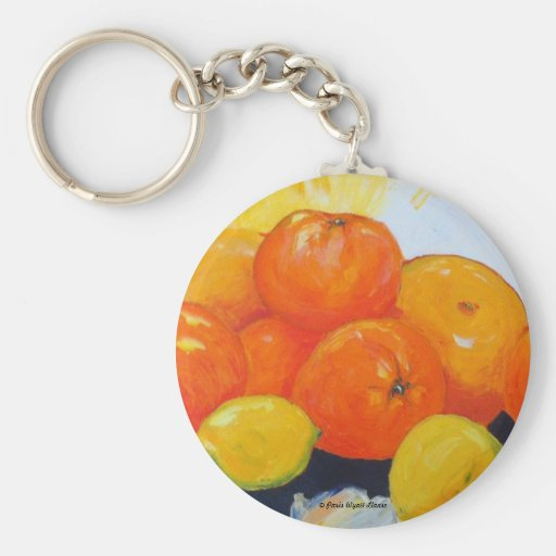 Citrus Splash II Key Chain