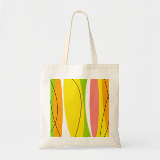 Citrus Stripe tote bag