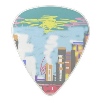 City Acetal Guitar Pick