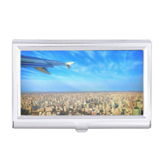 City airport Jorge Newbery AEP Business Card Holder
