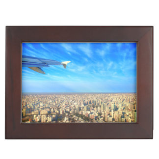 City airport Jorge Newbery AEP Keepsake Box
