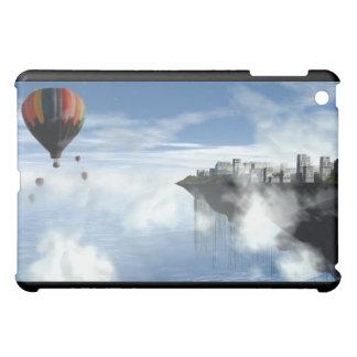 City and balloons  iPad mini cover