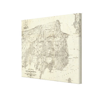 City and County of San Francisco Canvas Print