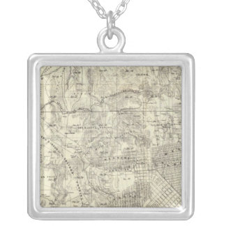 City and County of San Francisco Silver Plated Necklace