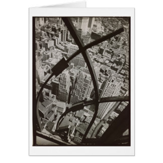 City Arabesque NYC Photo by Berenice Abbott Card