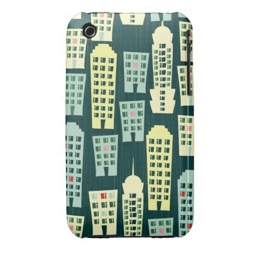 city at night iPhone 3 Case-Mate cases