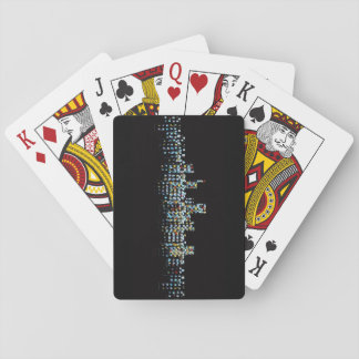 City at Night Playing Cards