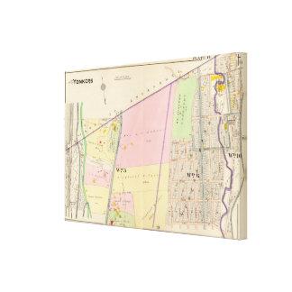 City Atlas Canvas Print