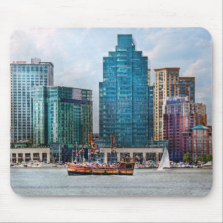 City - Baltimore MD - Harbor east Mouse Pad