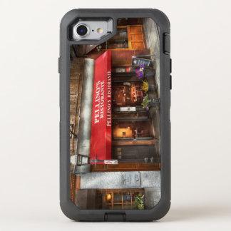 City - Boston, MA - Pellino's Ristorante OtterBox Defender iPhone 8/7 Case