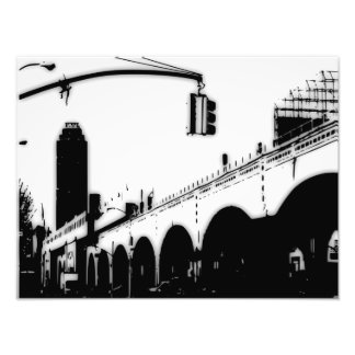 City Bridge Photo Enlargement