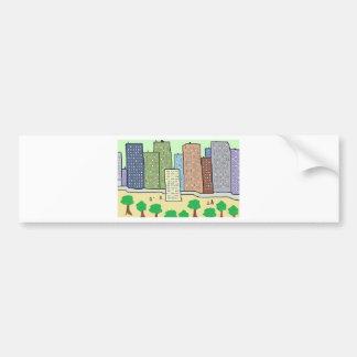 City Bumper Stickers
