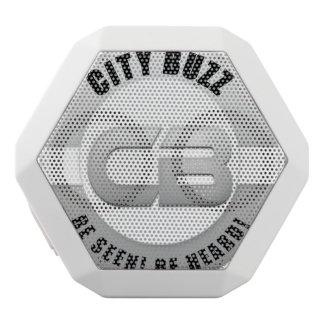 City Buzz Octi-Box White Boombot Rex Bluetooth Speaker