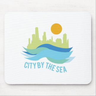 City By Sea Mouse Pad