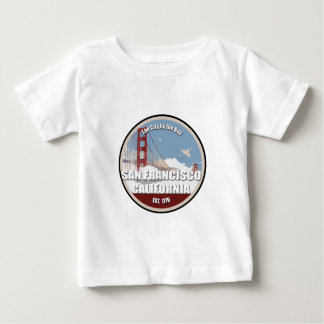 City by the bay, San Francisco California Baby T-Shirt