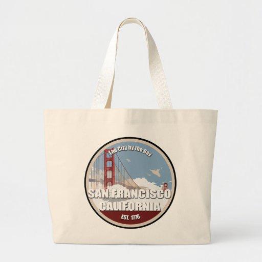 City by the bay, San Francisco California Tote Bag