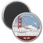 City by the bay, San Francisco California Refrigerator Magnet