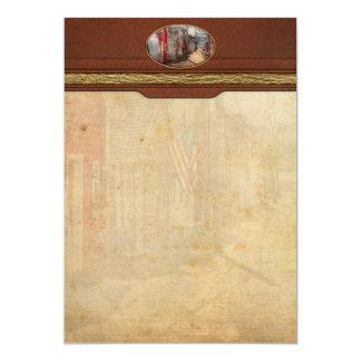 City - Canandaigua, NY - Shanty town 13 Cm X 18 Cm Invitation Card