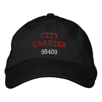 CITY CARRIER, Hat Embroidered Hats
