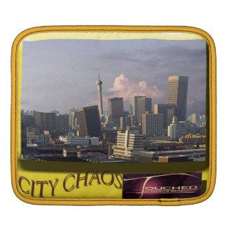 City Chaos iPad Sleeve