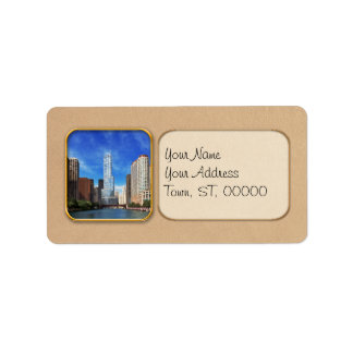 City - Chicago IL - Trump Tower Address Label