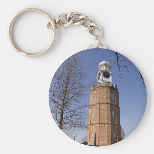 City Clock Tower Key Ring