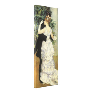 City Dance by Pierre Renoir, Vintage Fine Art Canvas Print