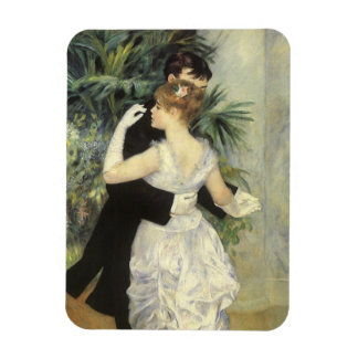 City Dance by Pierre Renoir, Vintage Fine Art Magnet