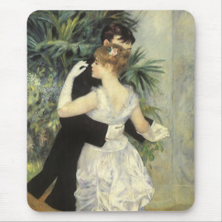 City Dance by Pierre Renoir, Vintage Fine Art Mouse Mat