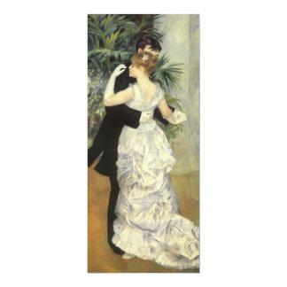 City Dance by Renoir, Vintage Art Wedding Card
