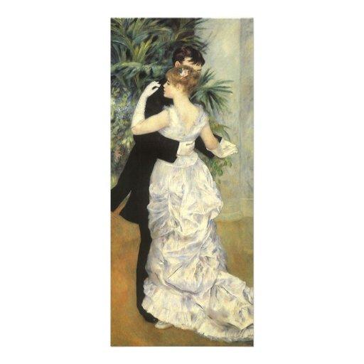 City Dance by Renoir, Vintage Art Wedding Custom Invitations