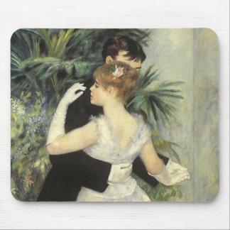 City Dance by Renoir, Vintage Impressionism Art Mouse Pad